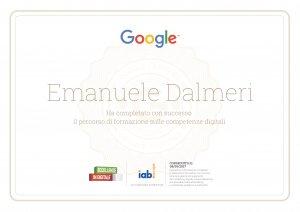 Eccellenze in digitale - Certificato
