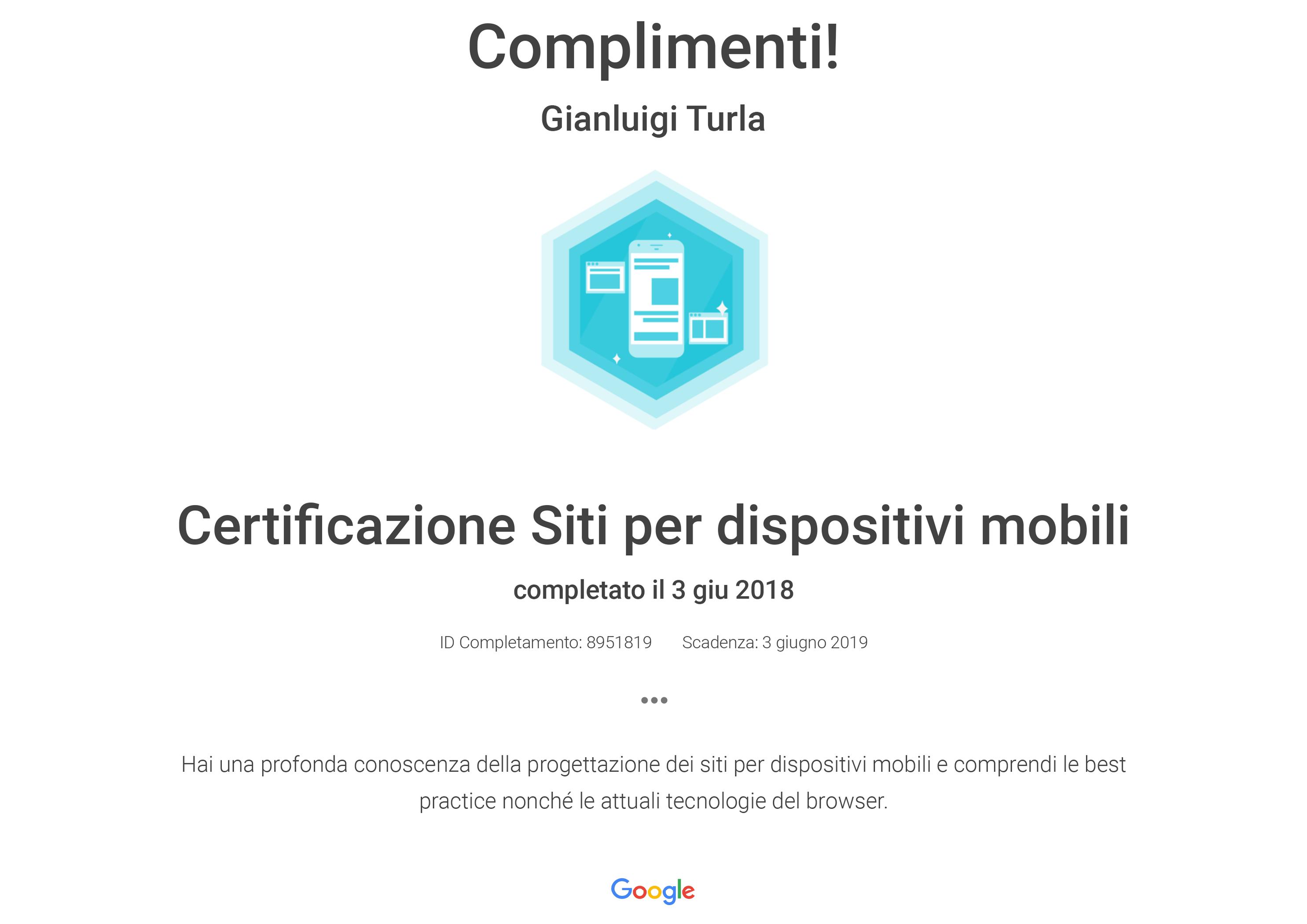 Certificazione siti per dispositivi mobili degvoice s r l for Siti per mobili